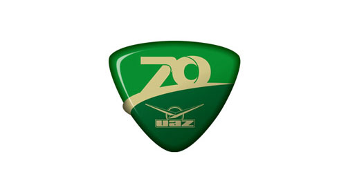 Логотип к юбилею УАЗа